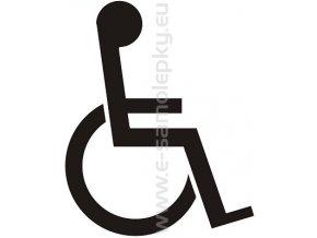 Samolepka - Tělesně postižený