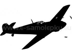 Samolepka - Letadlo Messerschmitt BF 109