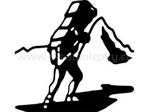 Samolepka - Horolezec nosič