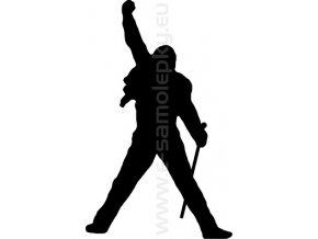 Samolepka - Freddie Mercury