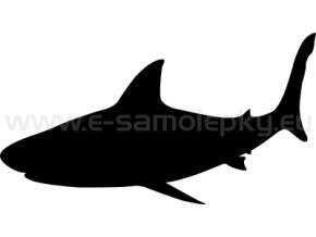 Samolepka - Žralok 03