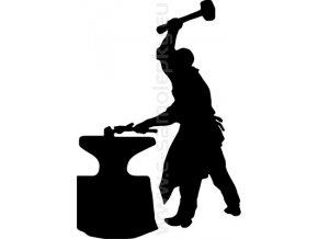 Samolepka - Kovář