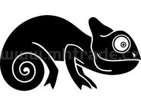 Samolepka - Chameleon 04