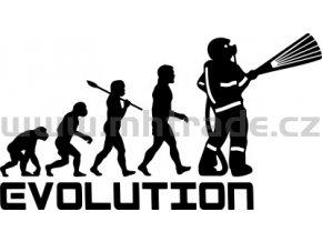 Samolepka - Hasič 10 evoluce 02