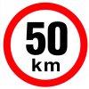 Samolepka - Omezená rychlost 50 km/h