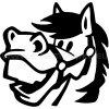 Samolepka - Kůň 32