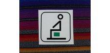 Symbol piktogram - vyhrazené místo