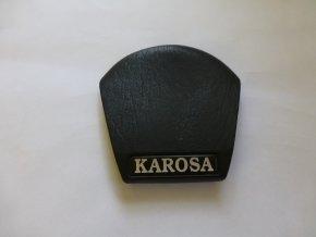 Středový kryt uchycení volantu - Karosa 900 gumový