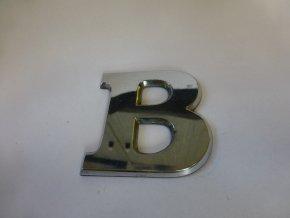 Plastické písmeno označení typu na karoserii - B