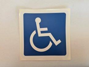 """Samolepka """"Invalida"""" velká"""