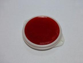 Červená odrazka kruhová - 80mm