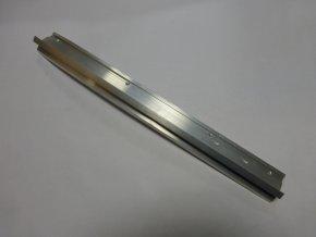 Zadní koncový díl okapní hliníkové lišty - pravý / hliník