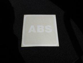 Nálepka označení výbavy autobusů - ABS