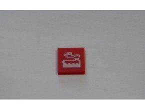 Symbol kontrolek systému Hella - červený / hladina motorového oleje
