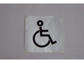 """Symbol piktogram """"invalida - vyhrazené místo"""""""
