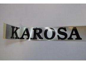 Samolepka (druhovýroba) označení typu - Karosa B 732