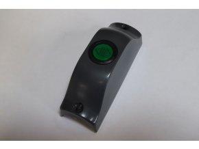 Tlačítko ovládání dveří na přídržná madla - zelené