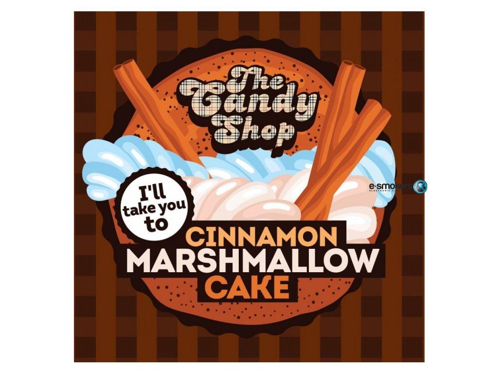 cinnamon marshmallow cake