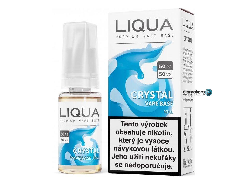 liqua cz crystal vape base 10ml18mg