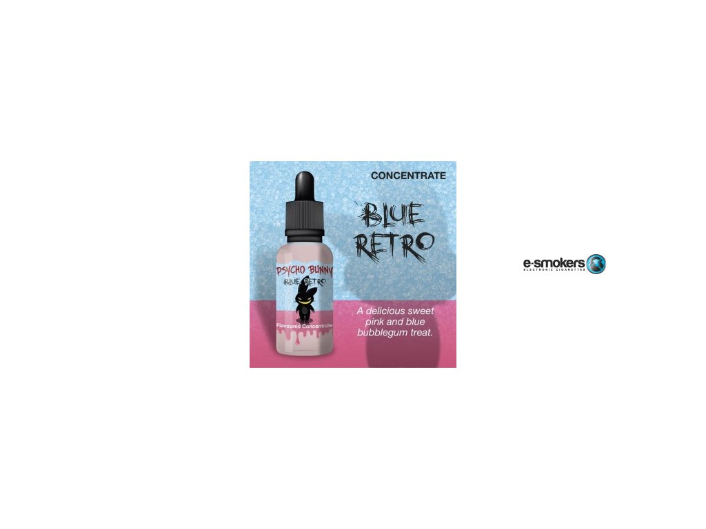 concentrates blue retro