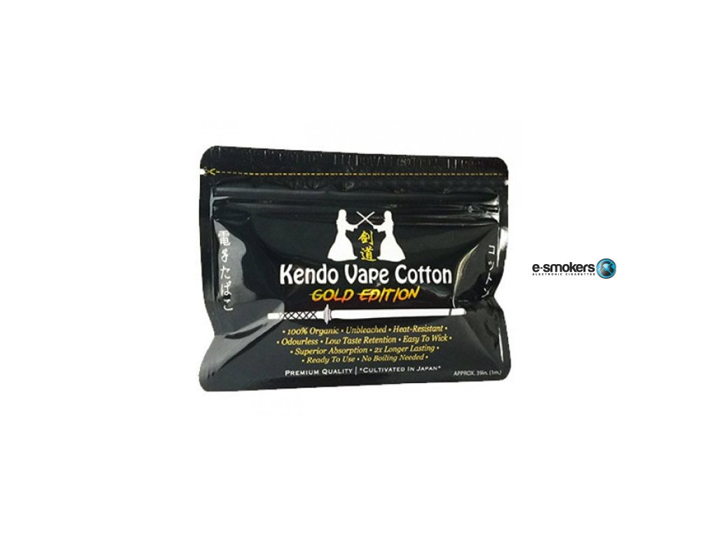 kendo cotton gold edition japonska organicka bavlna