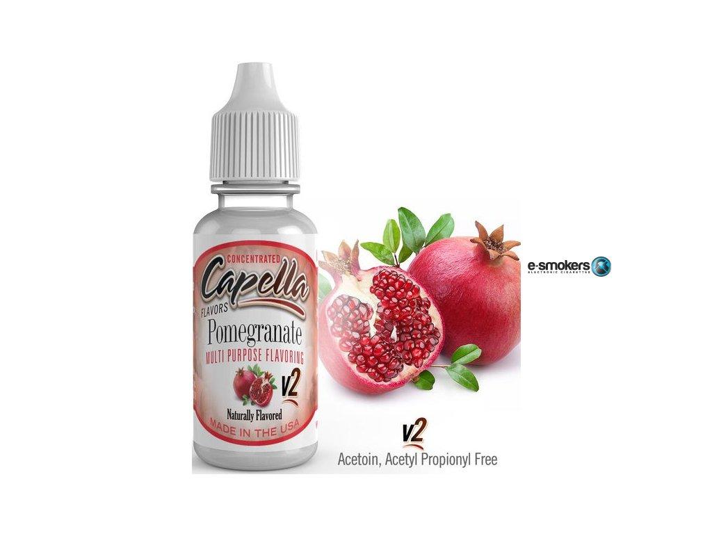 prichut capella 13ml pomegranate v2 granatove jablko