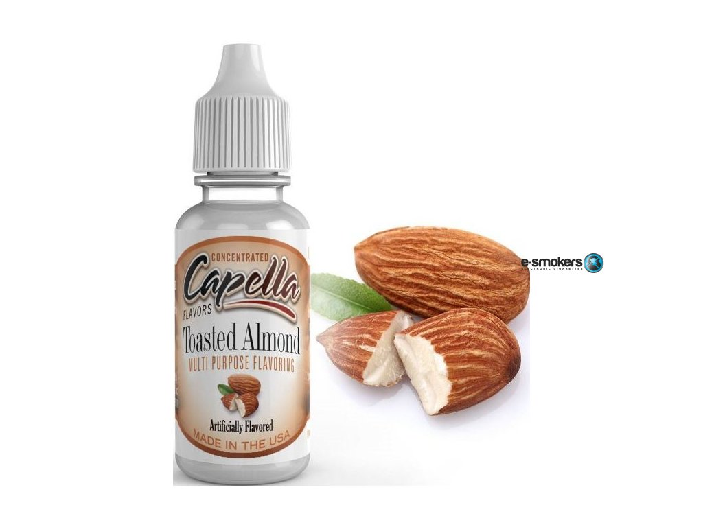 prichut capella 13ml toasted almond oprazene mandle