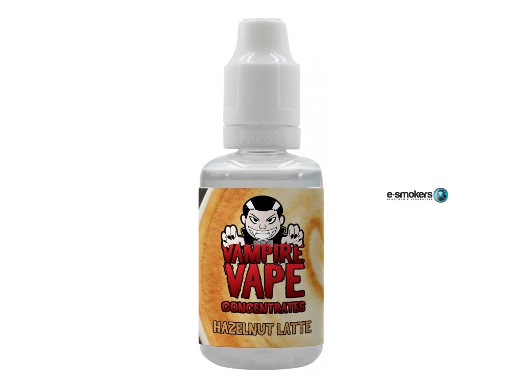 prichut vampire vape 30ml hazelnut latte