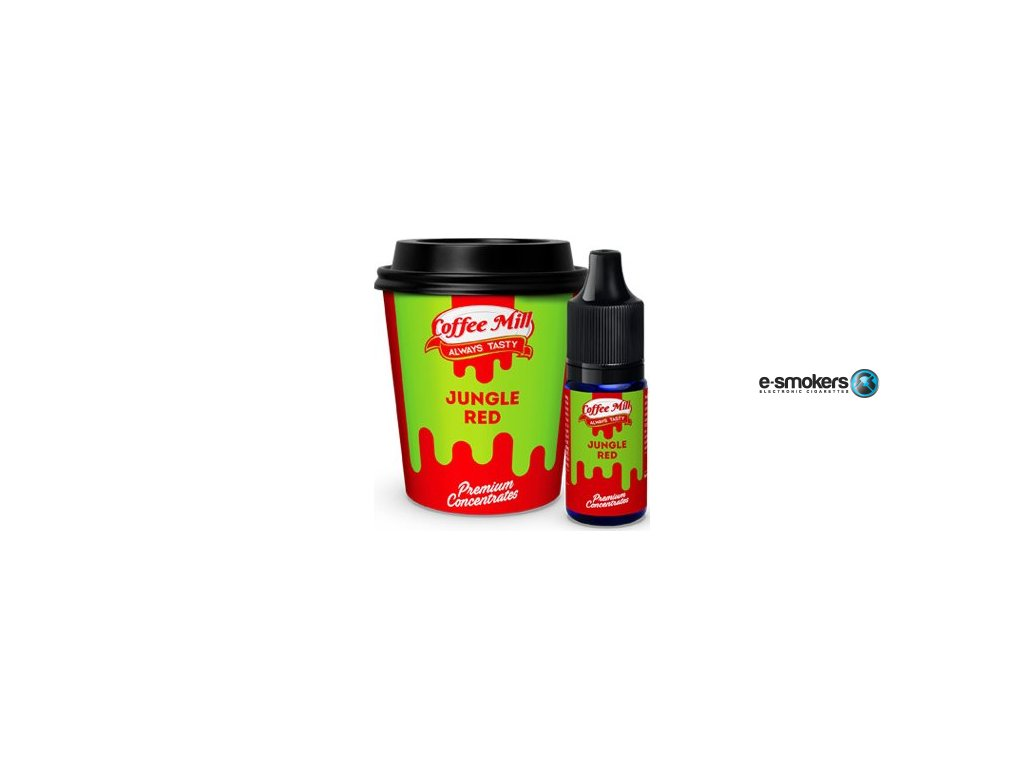 prichut coffee mill 10ml jungle red