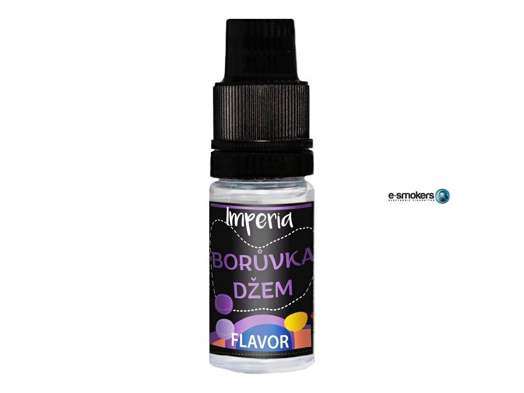 prichut imperia black label 10ml blueberry jam boruvkovy dzem
