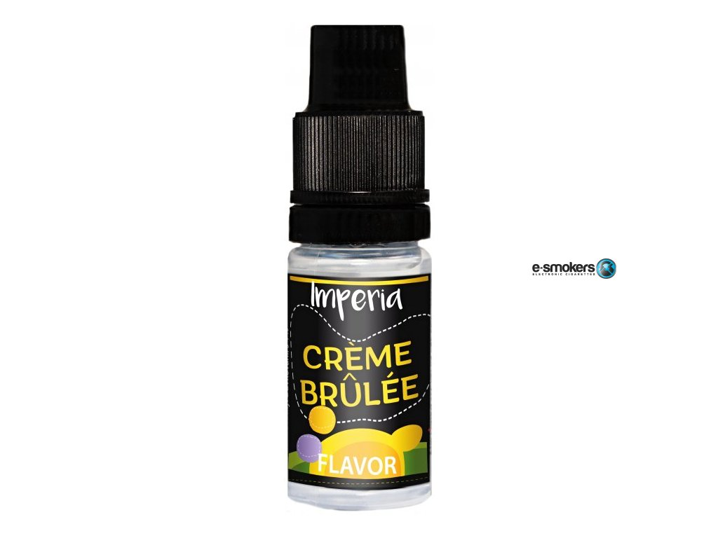 prichut imperia black label 10ml creme brulee lahodny dezert