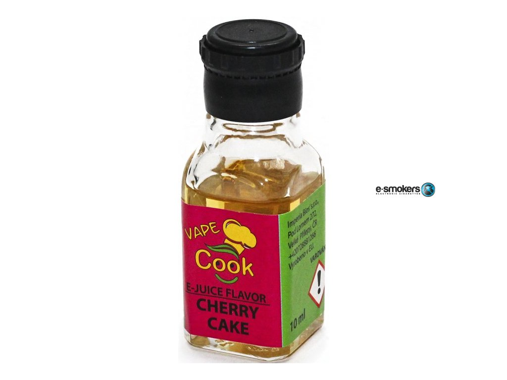 prichut imperia vape cook 10ml cherry cake tresnovy kolac