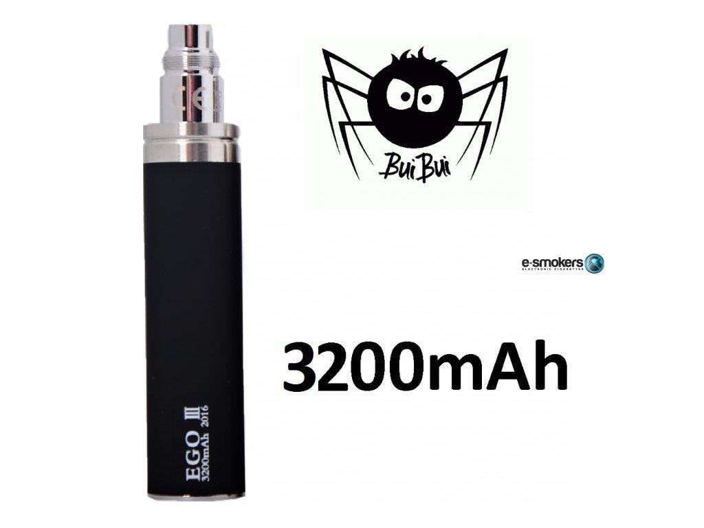 buibui gs ego iii baterie 3200mah black