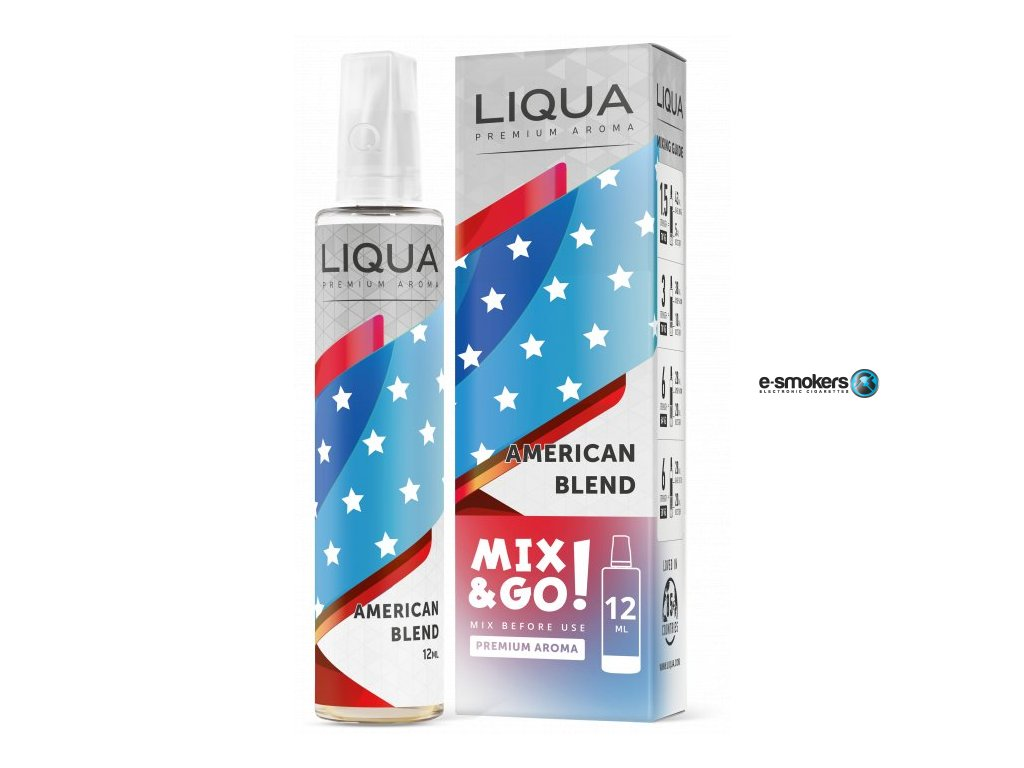prichut liqua mixgo 12ml american blend