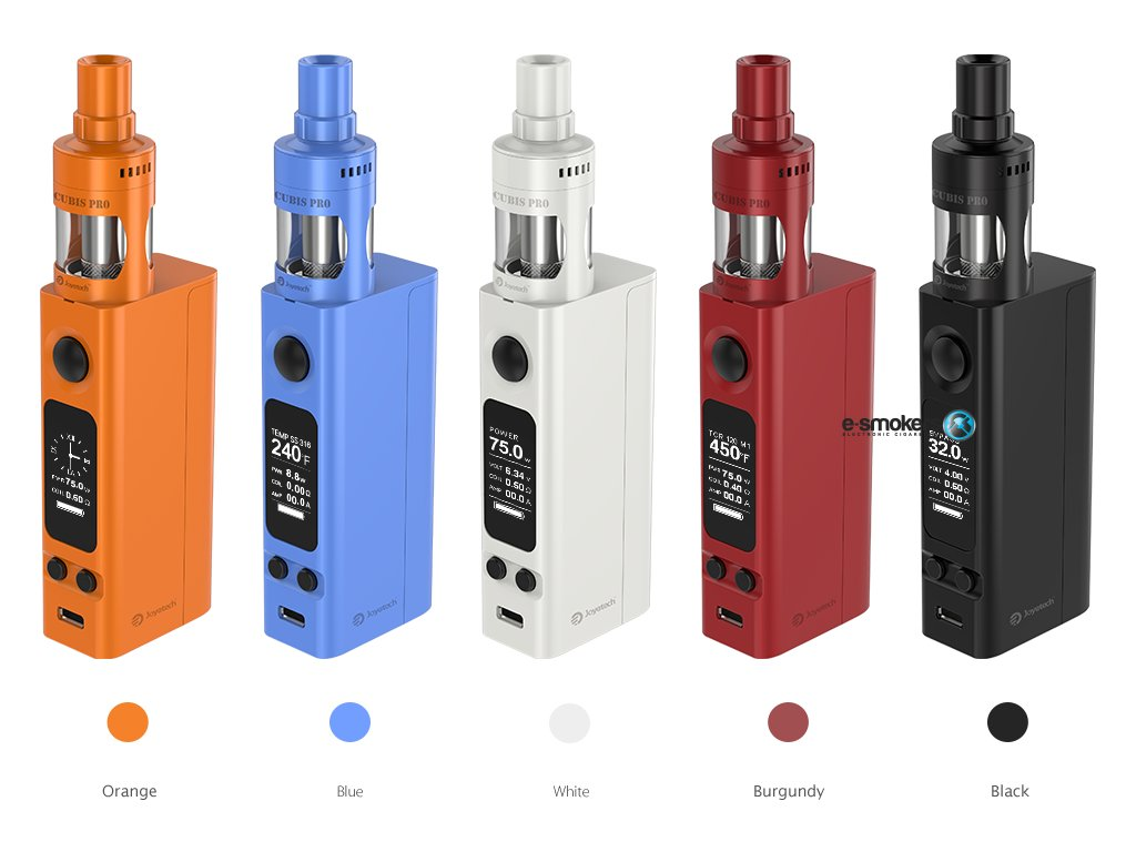 eVic VTwo Mini with CUBIS Pro 01