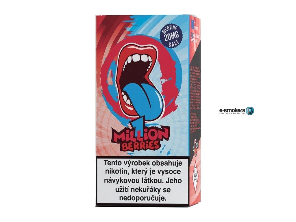liquid big mouth salt one million berries 10ml 20mg