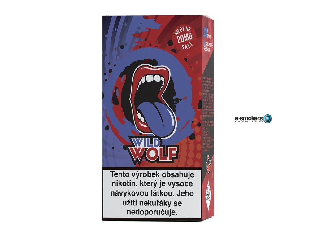 liquid big mouth salt wild wolf 10ml 20mg