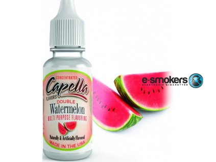 prichut capella 13ml double watermelon dvojita chut vodniho melounu