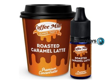 prichut coffee mill 10ml roasted caramel latte