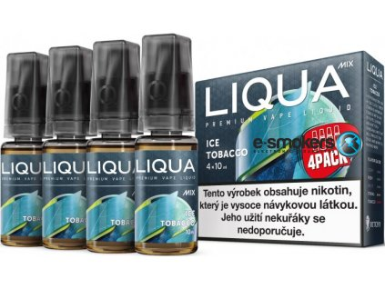 liquid liqua cz mix 4pack ice tobacco 10ml3mg