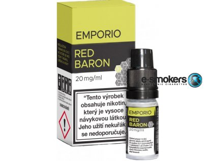 liquid emporio salt red baron 10ml 20mg