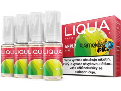 liquid liqua cz elements 4pack apple 4x10ml3mg jablko.png