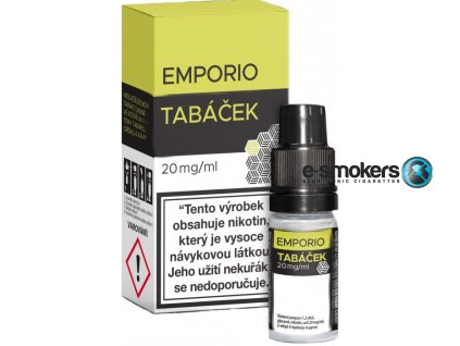 liquid emporio salt tobacco tabacek 10ml 20mg.png