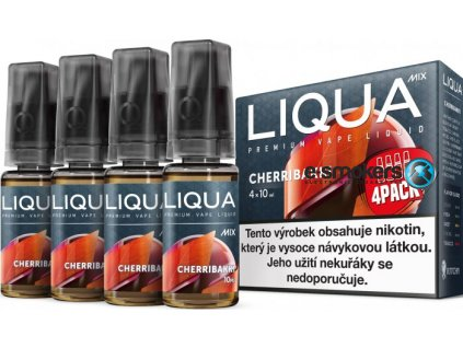 liquid liqua cz mix 4pack cherribakki 10ml3mg