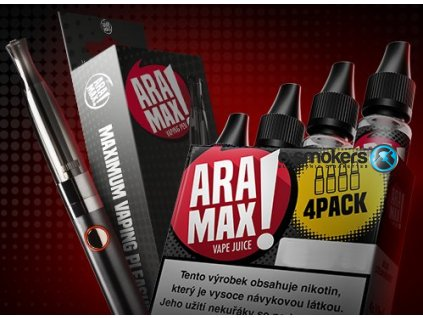 aramax vyhodna sada 4pack usa mix 12mg ecigareta aramax vaping pen