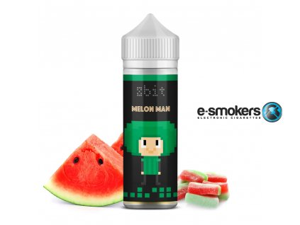 8bit melon man