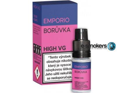 liquid emporio high vg blueberry 10ml 0mg