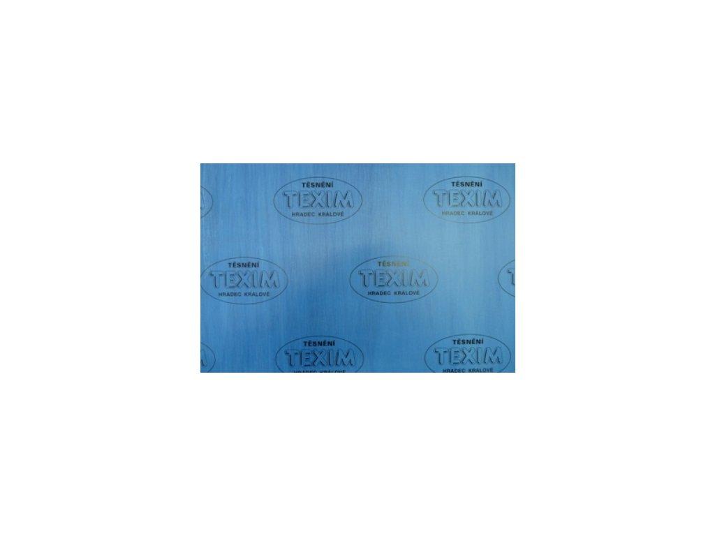 Bezasbestová deska TEXIM modrá 5  Temasil modrá 5