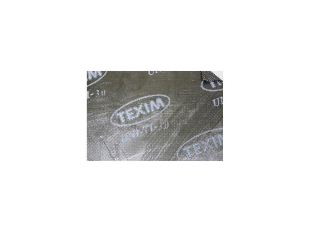 Bezasbestová deska grafit + nerez TEXIM UNI-TI 3mm 1500x1500 mm  TEXIM UNI-TI 3mm 1500x1500x3