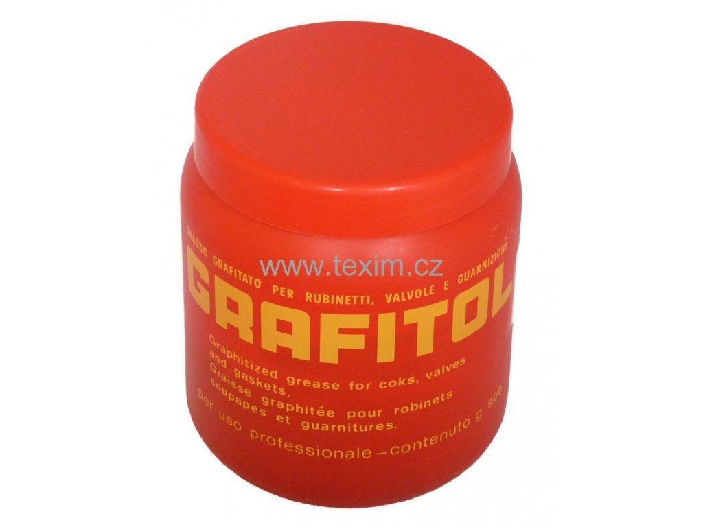 Grafitová pasta GRAFITOL 900 g vazelína  Grafitová pasta 900 g